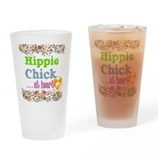 pillow-hippie-chick Drinking Glass