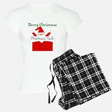 Pharmacy Tech Retro Santa Pajamas