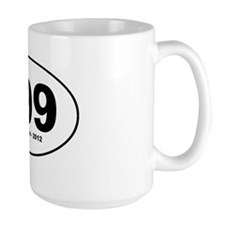 999 Herman Cain sticker Mug