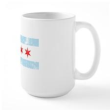 Chicago Flag Vintage Style Mug