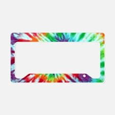Green Spiral Laptop License Plate Holder