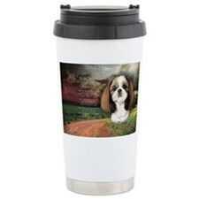 godmadedogs(oval) Travel Coffee Mug