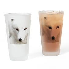 White_Polar_Silver_Fox_PhotoMP Drinking Glass