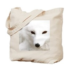 White_Polar_Silver_Fox_PhotoMP Tote Bag