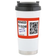 Reduced to clear T shirt Thermos Mug