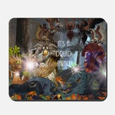 Druid-full---CNC1 Mousepad