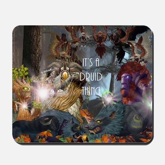 Druid-full---CNC1 Mousepad