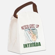 Nevergiveup Canvas Lunch Bag