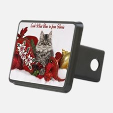 Kiddo Christmas Card Front Hitch Cover