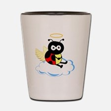 angel_ladybug Shot Glass