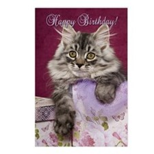Birthday Card Front Postcards (Package of 8)