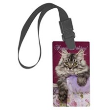 Birthday Card Front Luggage Tag