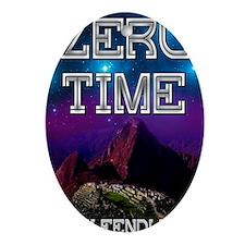 Zero Time Oval Ornament