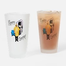 Happy Campa! Drinking Glass