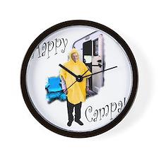 Happy Campa! Wall Clock