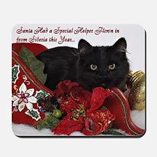 BB Christmas Card Front Mousepad