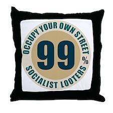 oct_99percent_1 Throw Pillow