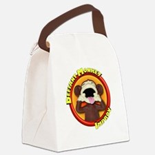 Defiant Monkey DARK Canvas Lunch Bag