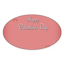 Valentines  Card Inside Decal