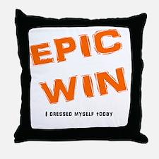 EPIC Win Throw Pillow