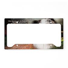godmadedogs(laptop) License Plate Holder