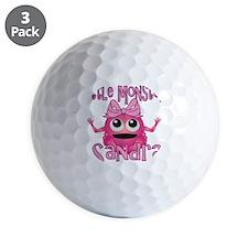 sandra-g-monster Golf Ball