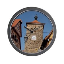 Plonlein area (Little Square). Sieberst Wall Clock