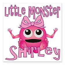 "shirley-g-monster Square Car Magnet 3"" x 3"""
