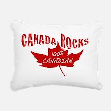 Canada Rocks Rectangular Canvas Pillow