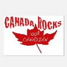Canada Rocks Postcards (Package of 8)
