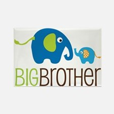Elephants2BigBrotherV2 Rectangle Magnet