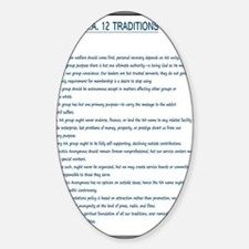 N.A. 12 Tradition Posters Decal