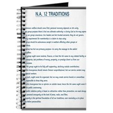 N.A. 12 Tradition Posters Journal