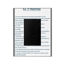 N.A. 12 Tradition Posters Picture Frame