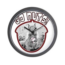 rally-squirrel-02_go-nuts_03-button Wall Clock