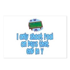PoolChick Days Postcards (Package of 8)