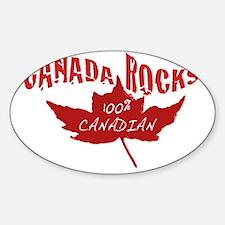 Canada Rocks Decal