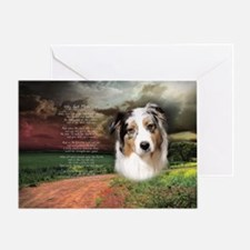 godmadedogs(oval) Greeting Card