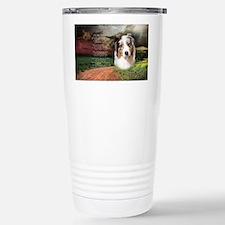 godmadedogs(oval) Stainless Steel Travel Mug