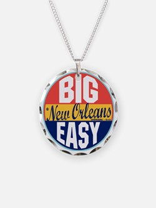 New Orleans Vintage Label W Necklace