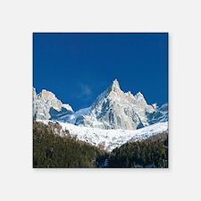 """BLANC: Le Montenvers / Wint Square Sticker 3"""" x 3"""""""