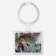 Used as flower pot and garden d Landscape Keychain