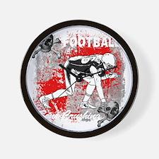 FootBall Bone Crushing experience Wall Clock
