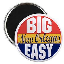 New Orleans Vintage Label B Magnet