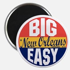 New Orleans Vintage Label B Magnet