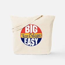 New Orleans Vintage Label B Tote Bag