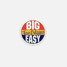 New Orleans Vintage Label B Mini Button