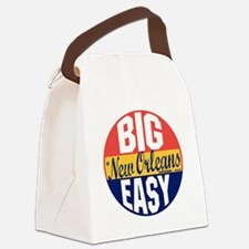 New Orleans Vintage Label B Canvas Lunch Bag