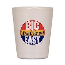 New Orleans Vintage Label B Shot Glass