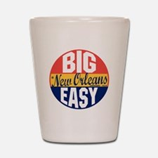 New Orleans Vintage Label B Shot Glass